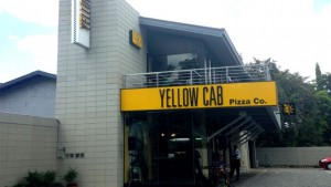 Yellow Cab Pizza - Manila